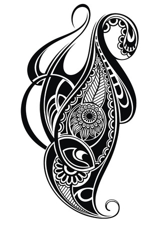 maories: Diseño de tatuaje Vectores