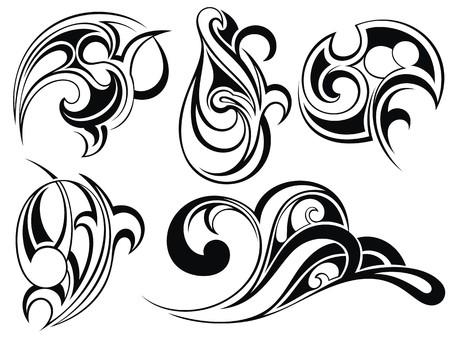 部族芸術タトゥー