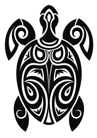 tribal art: Turtle