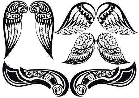 engel tattoo: Engel wings.Good von verschiedenen Tattoo Flügel gesetzt