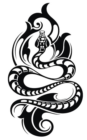 arms: Snake Tattoo