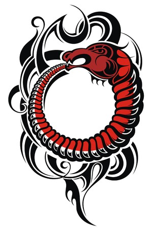 maories: Dise�o del tatuaje