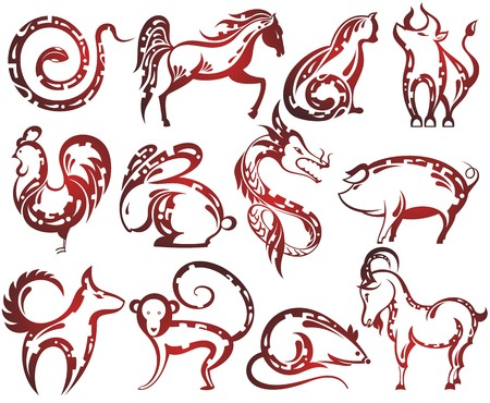 auspicious sign: Chinese zodiac signs