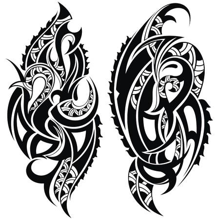 hombros: Dise�o del tatuaje