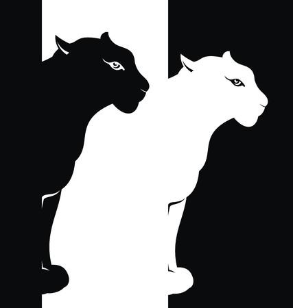Puma Векторная Иллюстрация