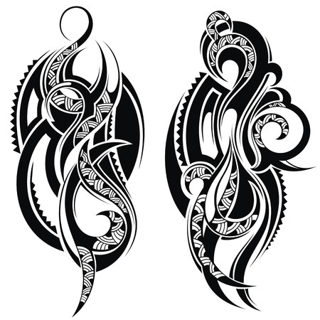 maori: Tattoo element