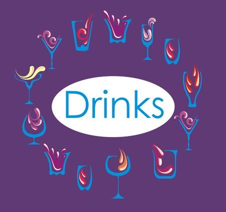 margerita: Drink alcohol menu