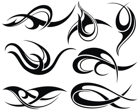 tribal tattoo: Tattoo design
