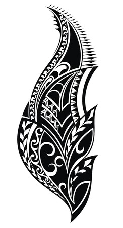 abstract tattoo: Tribal tattoo
