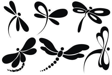 butterfly tattoo: Farfalla segno Vettoriali