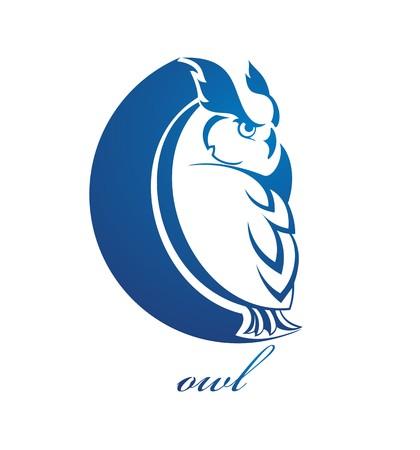 night owl: Owl symbol
