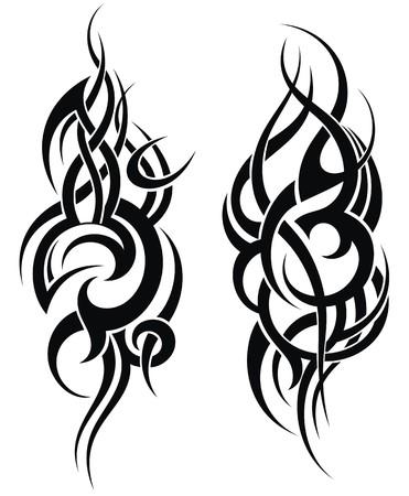tatouage: Maori motif de tatouage de style pour une �paule