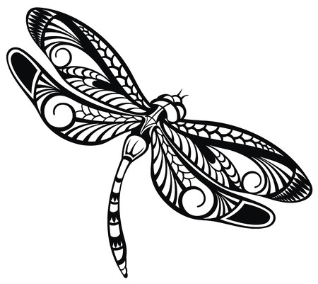 dragonfly wing: Dragonfly