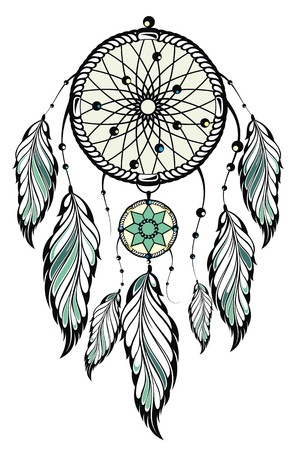 fastening: Indian Dream catcher
