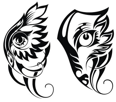 Animal eyes Illustration