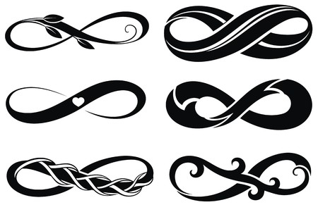 forever: Infinity.Tattoo symbols