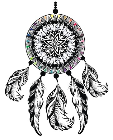 native american art: Dream Catcher, Protection, American Indians