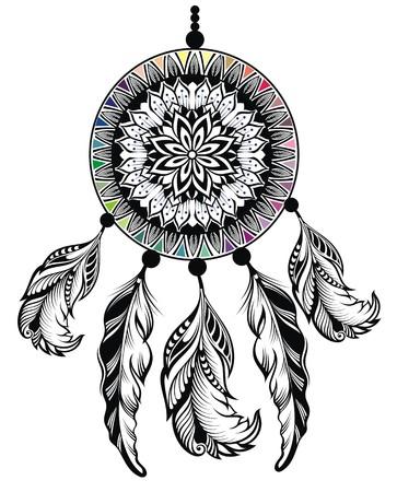 totem indien: Dream Catcher, Protection, les Indiens d'Amérique
