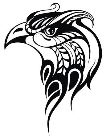 eye tattoo: eagle