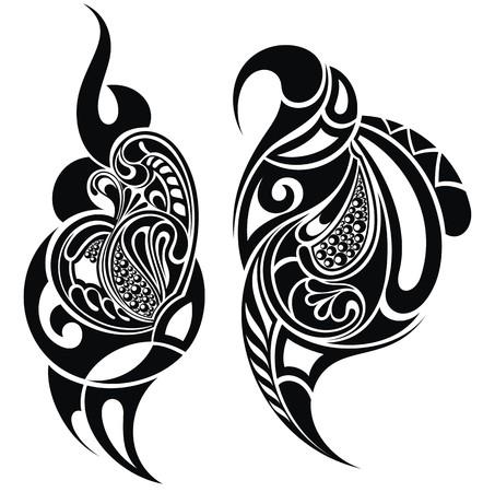 hombros: Elementos de tatuaje