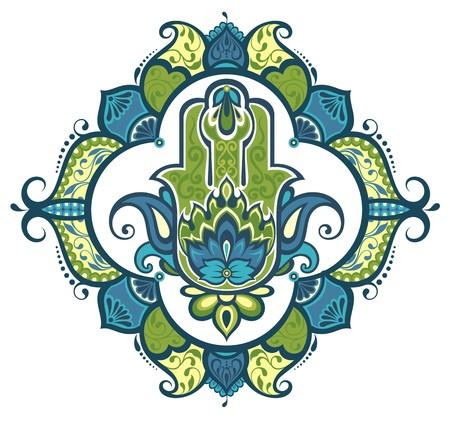 hamsa: Decorative hamsa