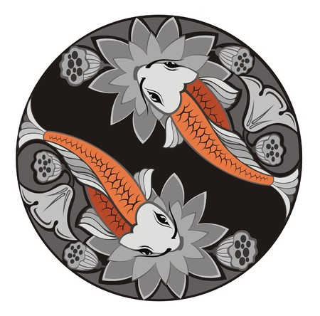 Fishes illustration Illustration