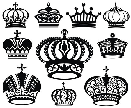nobleman: crown collection Illustration