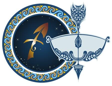 zodiac symbol: Zodiac signs - Sagittarius