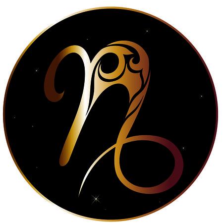 capricornio: signo zodiacal de Capricornio Vectores