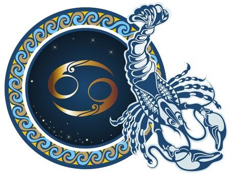 signes du zodiaque: Signes du zodiaque - Cancer