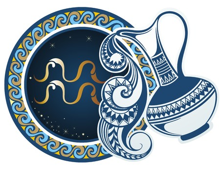 signs of the zodiac: Zodiac signs - Aquarius