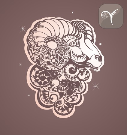 sheep sign: aries zodiac sign