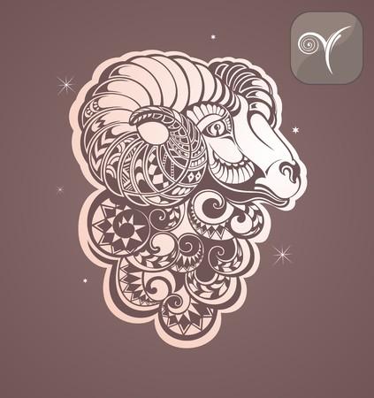 astrological: aries zodiac sign