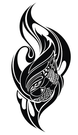 tribal: tribal tattoo Illustration