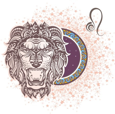 aries: Leo signo Vectores