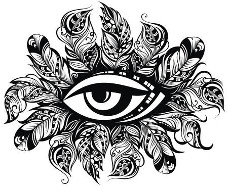 spirituality: Eye symbol