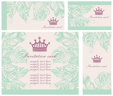 congratulations banner: invitation cards