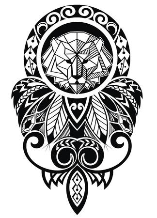 hombros: dise?o del tatuaje Vectores