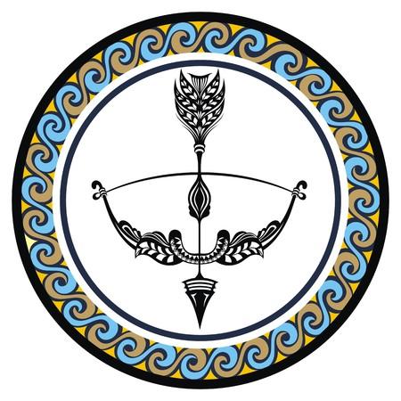 Decorative Zodiac sign Sagittarius