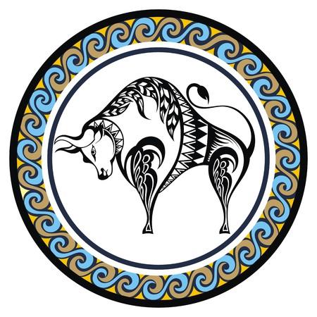 zodiacal: Decorative Zodiac Taurus