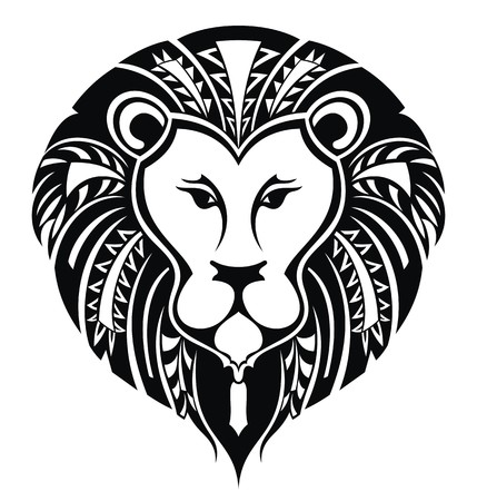 lion head Vektorové ilustrace