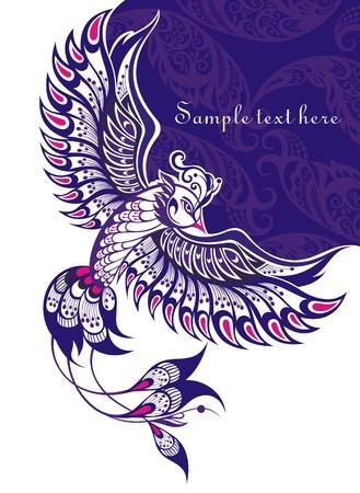 phoenix bird Иллюстрация