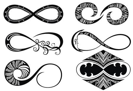 infinity: Infinity symbols Illustration