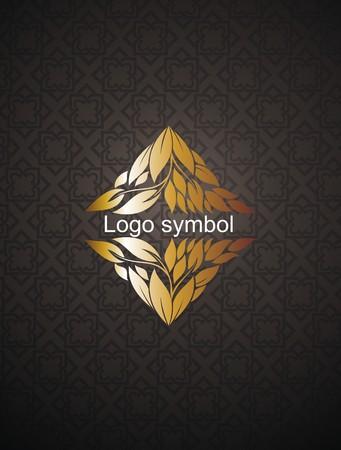 Vector set of natural, organic, vegan badge and logo design template Vettoriali