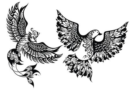 symbols: Birds symbols