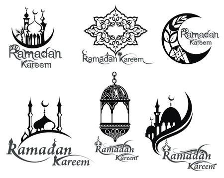 middleeast: Ramadan symbols