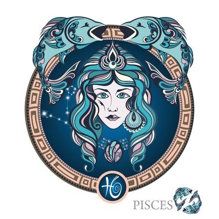 Pisces. Zodiac sign