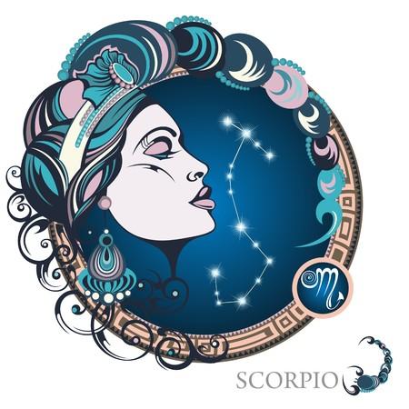 Scorpio. Zodiac sign