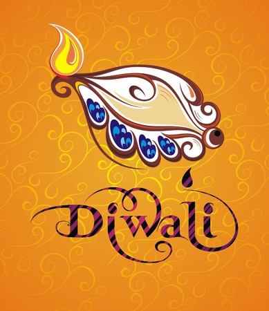 deepawali backdrop: Happy Diwali festival India background