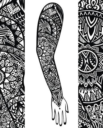 styl tatuaż